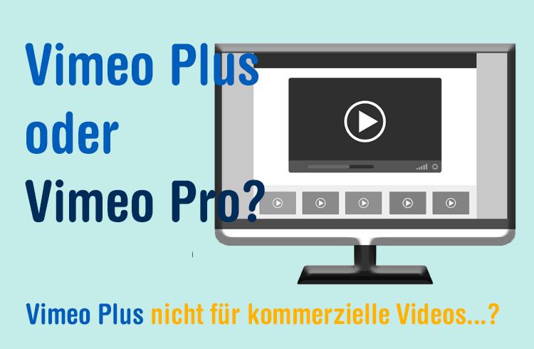 Vimeo Plus oder Pro oder Youtube?
