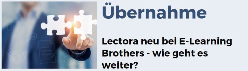 Autorensoftware Lectora jetzt bei den E-Learning Brothers